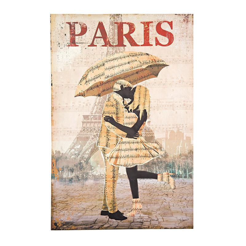 ΠΙΝΑΚΑΣ/ΚΑΜΒΑΣ PRINTED PARIS 60X2X90